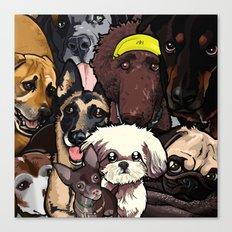 Dogs. Canvas Print