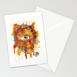 Eyes Series BROWN Stationery Cards