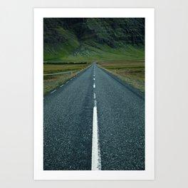Iceland - N1 Art Print