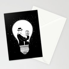We light up the dark Stationery Cards