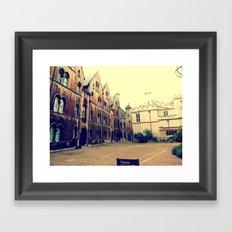 Beauty of Oxford Framed Art Print