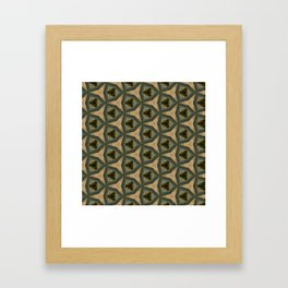 pttrn11 Framed Art Print