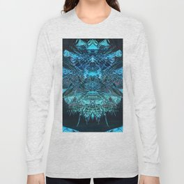 Digital Painting - Crystal Sequence to a Spiritual Core Long Sleeve T-shirt
