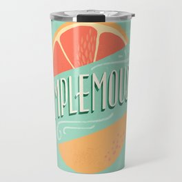 Pamplemousse (Grapefruit) Travel Mug