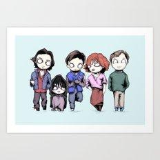 Saturday Detention Art Print