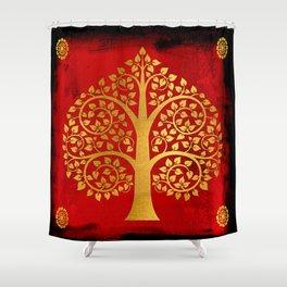 Bodhi Tree0109 Shower Curtain