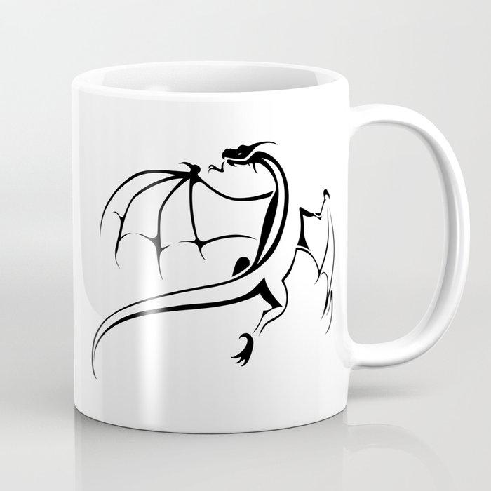 A simple flying dragon Coffee Mug