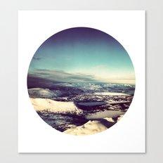 Telescope 4 arctic Canvas Print