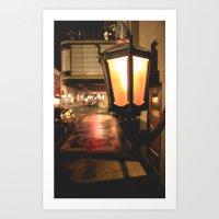 lantern Art Prints featuring Lantern  by Dillonmakar