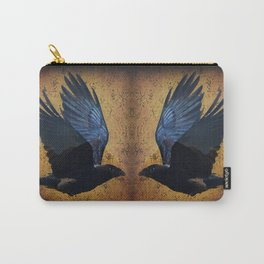Raven's Mountain Art Print Carry-All Pouch