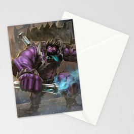 Classic Dr Mundo League of Legends Stationery Cards