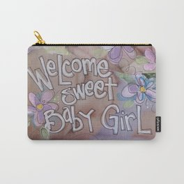 Sweet BAby Girl Carry-All Pouch