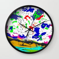 zodiac Wall Clocks featuring Zodiac by lookiz