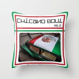 Chicano Soul Vol 2 Throw Pillow