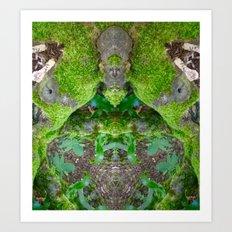 Wizard Of The Dark Wood Art Print