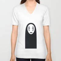 spirited away V-neck T-shirts featuring Spirited Away by Jazmyn