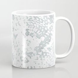 Gray and White Lace Watercolor Print Coffee Mug