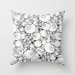 Infiniboobs Throw Pillow