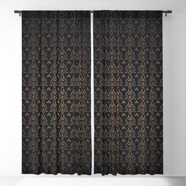 Goth queen pattern Blackout Curtain