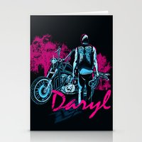 daryl Stationery Cards featuring Daryl Drive by Tracey Gurney