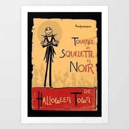 Jack Noir Art Print