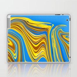 Marble Splash Laptop & iPad Skin