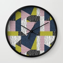 Postmodern Puzzle No. 1 Wall Clock