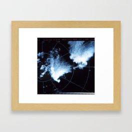 classic storm Framed Art Print