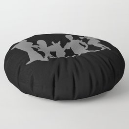 dog scooby Floor Pillow