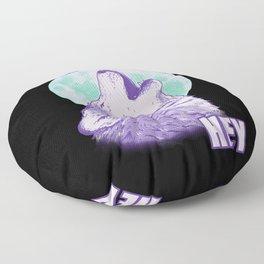 Hey Moon Hey Floor Pillow