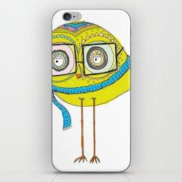 winter owl iPhone Skin
