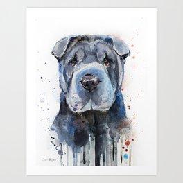 Shar Pei Art Print