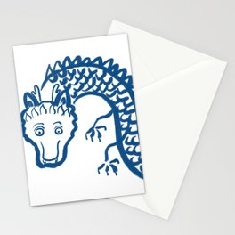 The Dragon Who Escaped Stationery Cards