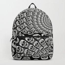 Spiral of Skulls Backpack