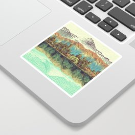 The Unknown Hills in Kamakura Sticker