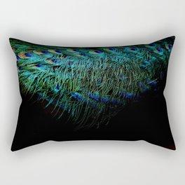 Peacock Details Rectangular Pillow