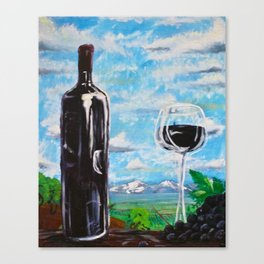 Idaho Wine Commission Canvas Print