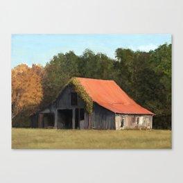 Old barn #1 Canvas Print