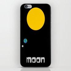 The Moon in Minimal iPhone & iPod Skin