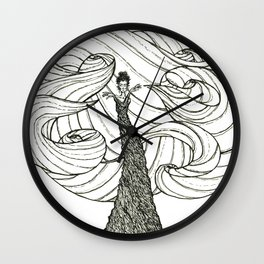 Dryad- Wind Mover Wall Clock