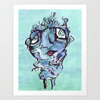 chill Art Prints featuring Chill by 5wingerone