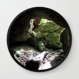 Out Towards the Woods Wall Clock
