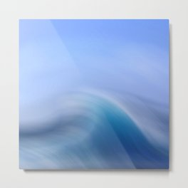 Surreal Waves 3 Metal Print