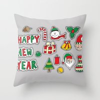 My Christmas Theme (: Throw Pillow