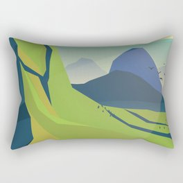 Grand Landscape Rectangular Pillow