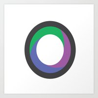 Kenon Lamont Thompson | Journalism & Photography (Logo) Art Print