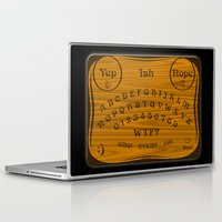 ouija Laptop & iPad Skins featuring Ouija 3.0 by tuditees