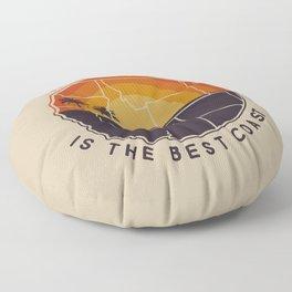 Left Coast is the Best Coast Floor Pillow