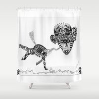 obama Shower Curtains featuring Barack Obama by Arber Thano