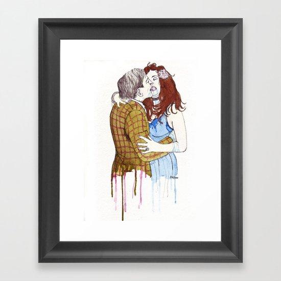 pda Framed Art Print